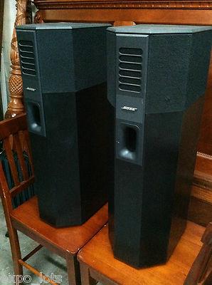Bose Car Speakers >> Bose 701 MINT Left & Right Speakers BLACK 400W / 80 HMS ...