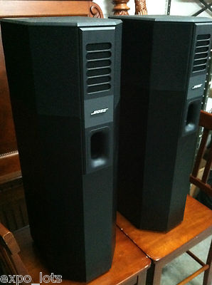 bose 701 speakers. bose 701 mint left \u0026 right speakers black 400w e