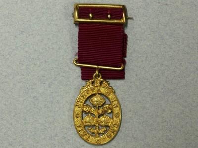 British medal Order of the Bath GOLD 18ct miniatur