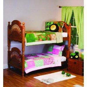 John Deere Bedding Boys Quilt And Sham Set Twin Size