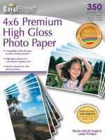 Royal Brites 4x6 Premium High Gloss Photo Paper350 Sheetsall