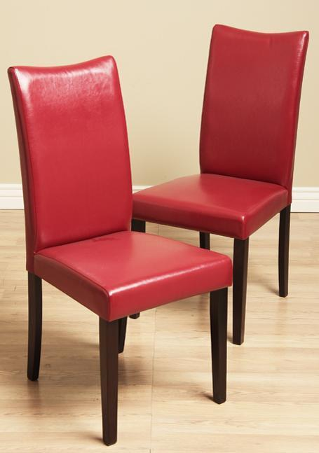 House of Tiffany (2) Dining Chairs Oak Bi Cast Le