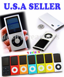 "1.8"" LCD MP4 Player Camera Video FM Radio 8GB silv"
