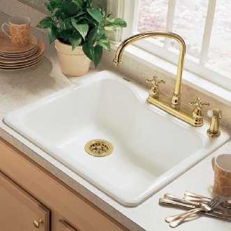 americast kitchen sink american standard silhouette single bowl kitchen 25 quot sink 1240