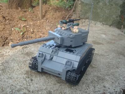 mini lego ww2 tank instructions