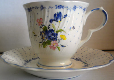 Nikko Tableware Blue Peony Collection Japan, 2 Cup
