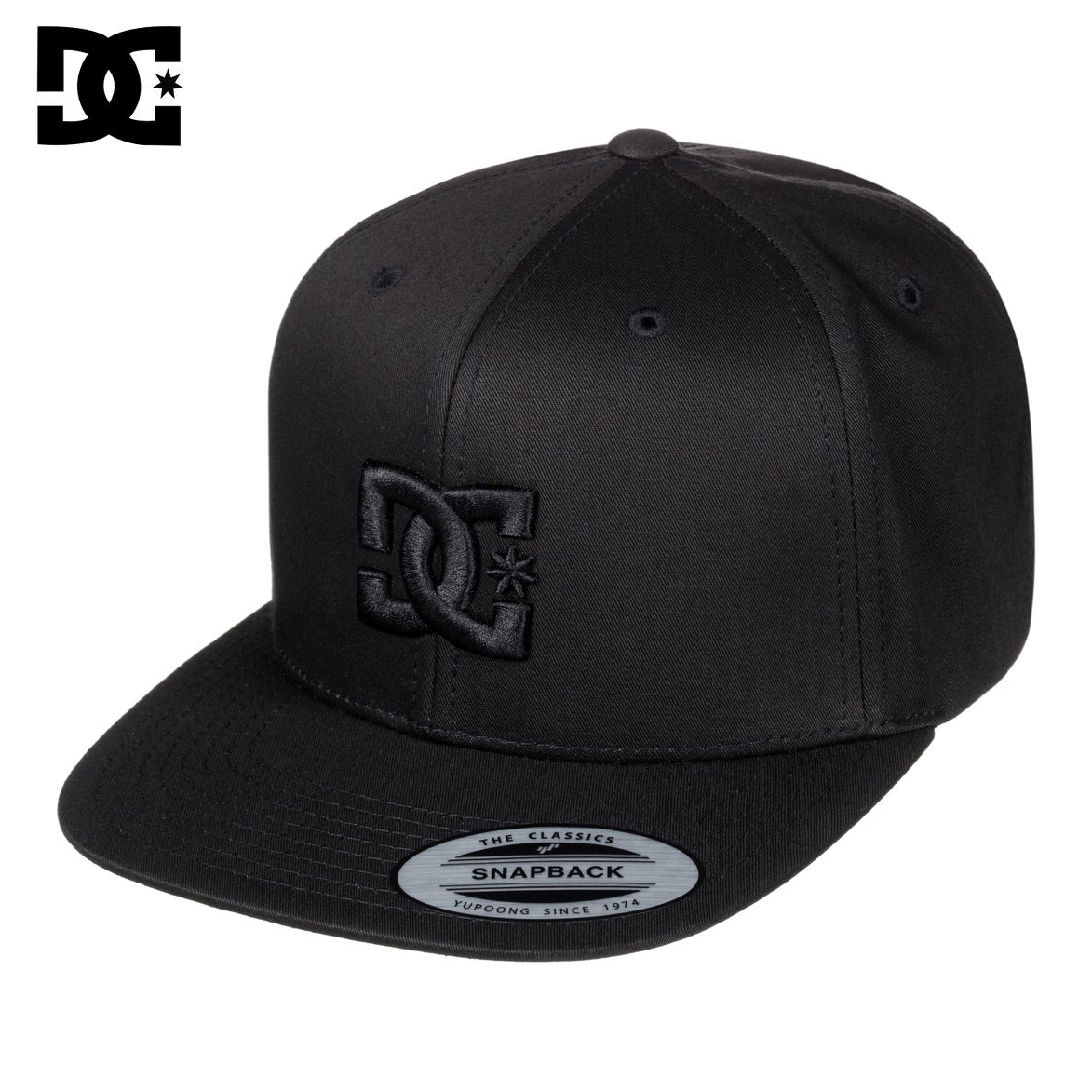 06e6691e DC Snappy Snapback Hat PRODUCT INFO Men's Snappy Snapback Hat The nuts and  bolts. Margin builder 6-panel cotton snapback design