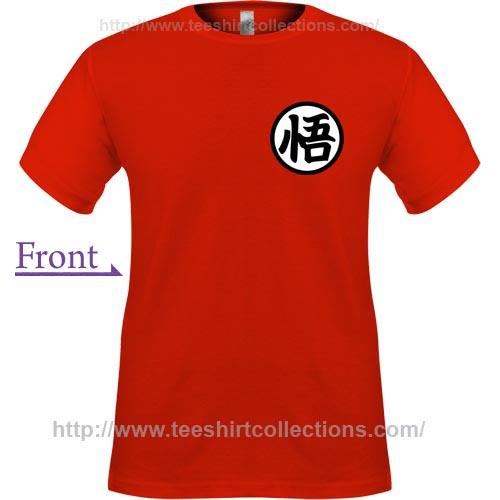 Dbz Goku Shirt Symbol 6