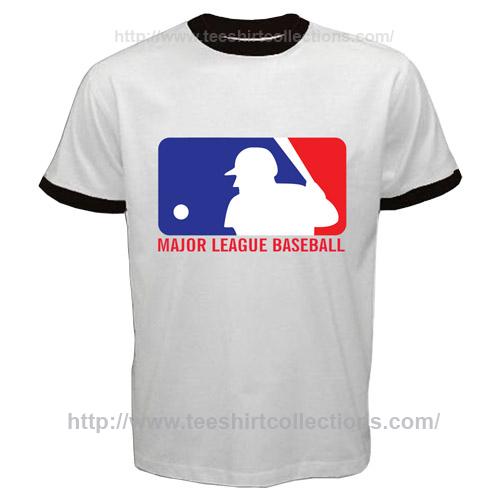 America world mlb major league baseball logo symbol ringer for Baseball logos for t shirts