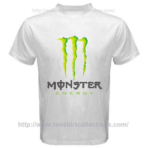 monster energy drink f1 motogp x games logo symbol white t. Black Bedroom Furniture Sets. Home Design Ideas