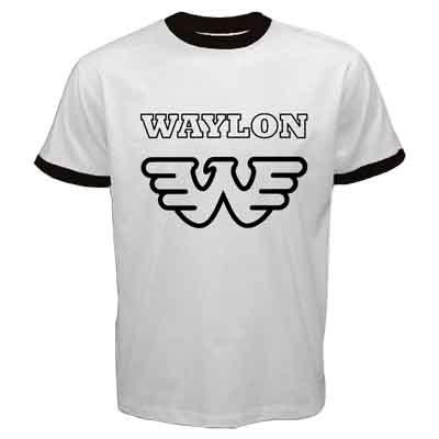 Waylon Jennings Outlaw Country Music W Logo Symbol