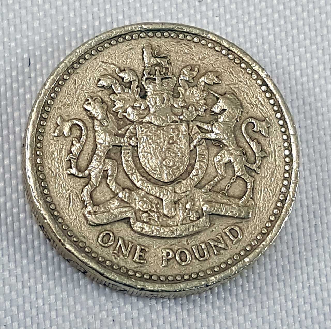 1983 one pound elizabeth coin value