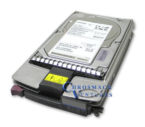 Compaq 36.4GB 10K SCSI Hot Swap Drive 177986-001 L