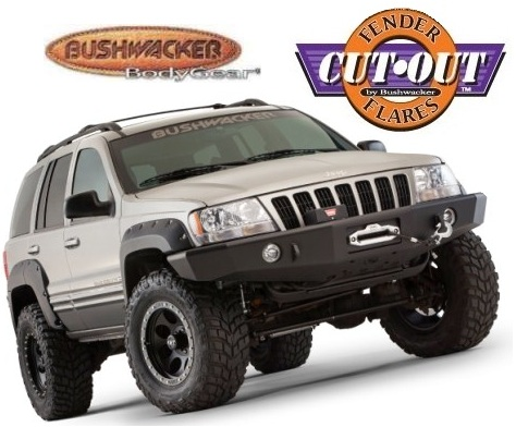 07 front rear cut out fender flares for 99 04 grand cherokee ebay. Cars Review. Best American Auto & Cars Review