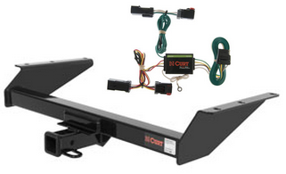 curt class 3 trailer hitch wiring for 2002 2007 jeep liberty ebay. Black Bedroom Furniture Sets. Home Design Ideas