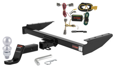 curt class 3 trailer hitch tow package for 94 98 jeep. Black Bedroom Furniture Sets. Home Design Ideas