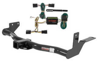 curt class 3 trailer hitch wiring for 98 02 honda. Black Bedroom Furniture Sets. Home Design Ideas
