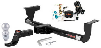 curt class 3 trailer hitch tow package for nissan murano ebay