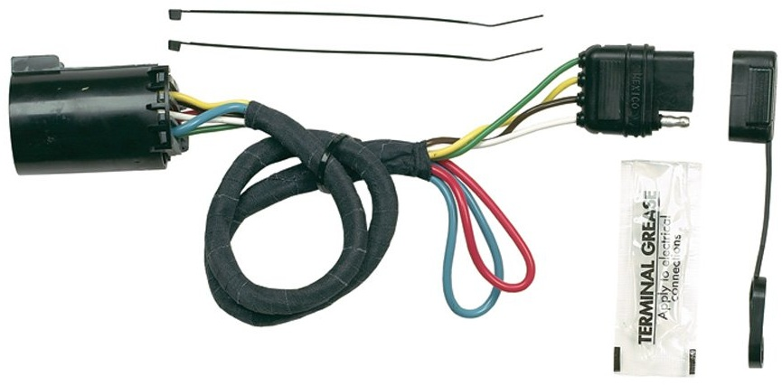 hoppy 41155 plug in simple trailer hitch wiring kit for chevy hoppy 41155 plug in simple trailer hitch wiring kit for chevy dodge ford more