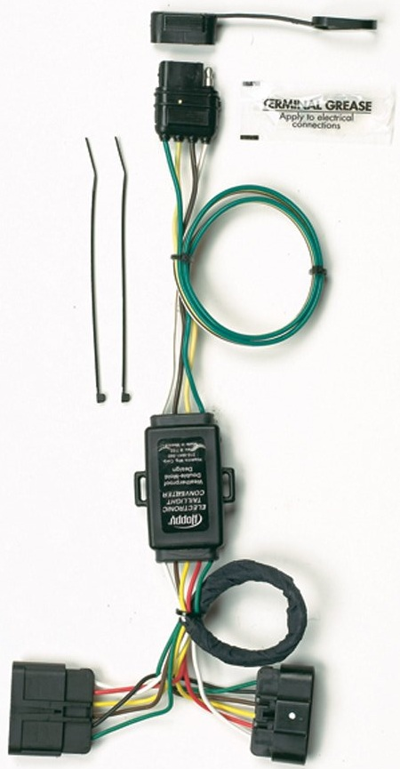 Terrific Hoppy 41165 Plug In Simple Trailer Hitch Wiring Kit For Select Chevy Wiring 101 Cranwise Assnl