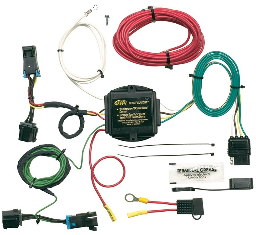 Amazing Hoppy 41345 Trailer Hitch Wiring Kit For 03 13 Chevy Express Van Gmc Wiring Digital Resources Ommitdefiancerspsorg