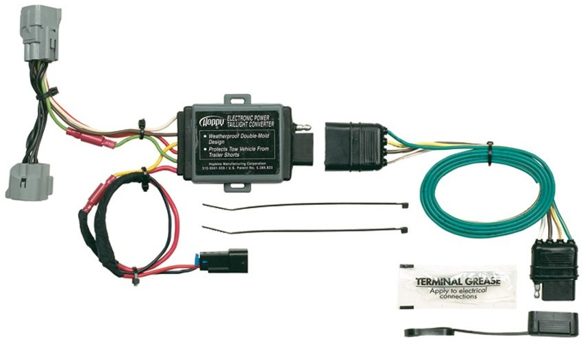 Trailer Wiring Harness For 2006 Jeep Grand Cherokee : Jeep grand cherokee tail light wiring harness