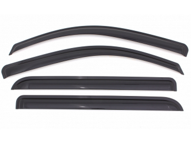 Auto ventshade avs 94197 4pc smoke deflector ventvisor for for 2003 acura tl window visor