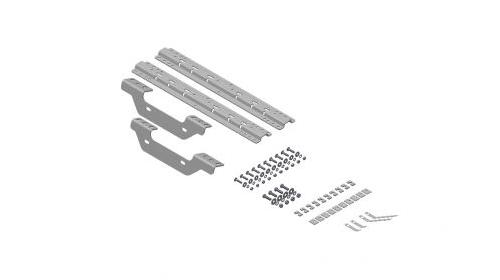 b u0026w hitches rvk2501 5th wheel hitch mounting rail kit for sierra 2500  3500 hd