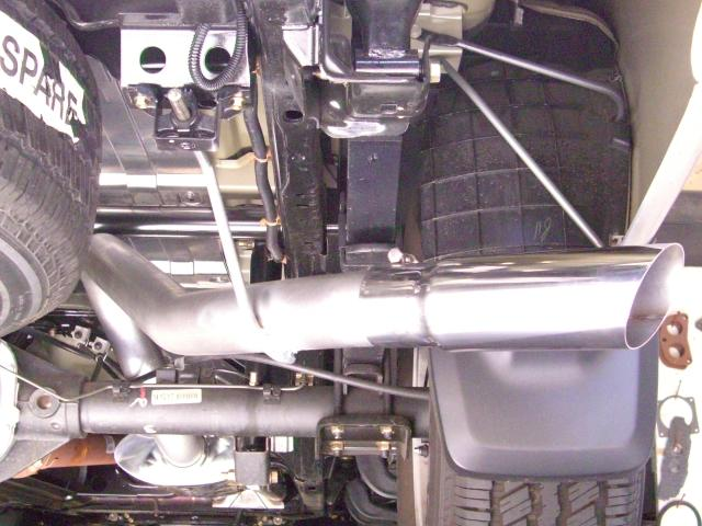 cgs 70046 stainless cat back exhaust for nissan titan crew. Black Bedroom Furniture Sets. Home Design Ideas