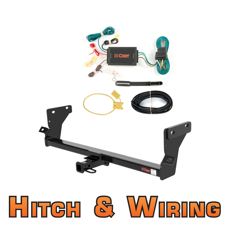 curt class 1 trailer hitch   wiring for 2007 2011 dodge