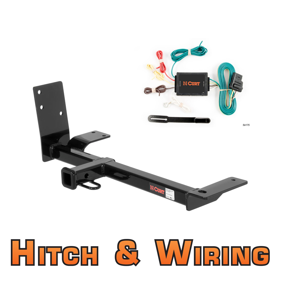 curt class 1 trailer hitch wiring for vw beetle   golf VW Coil Wiring