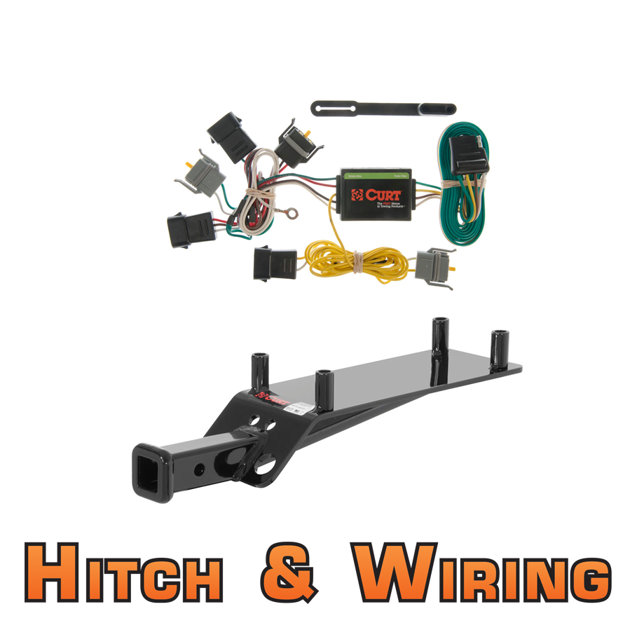 curt class 1 trailer hitch wiring for 2001 2003 ford. Black Bedroom Furniture Sets. Home Design Ideas