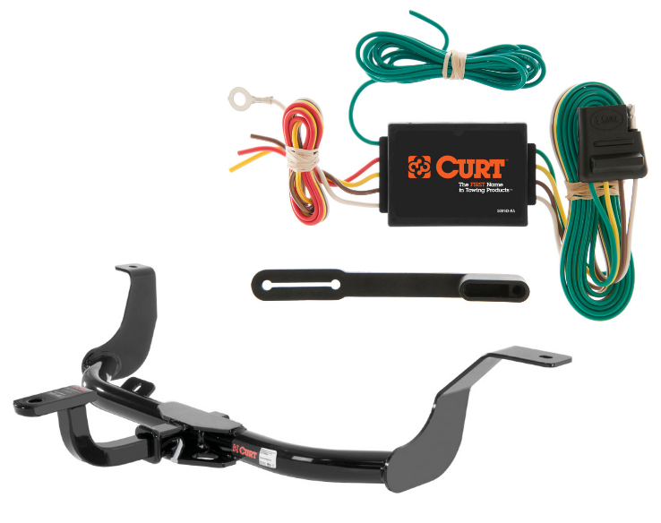Curt Class 1 Trailer Hitch Amp Wiring W Old Style Ball