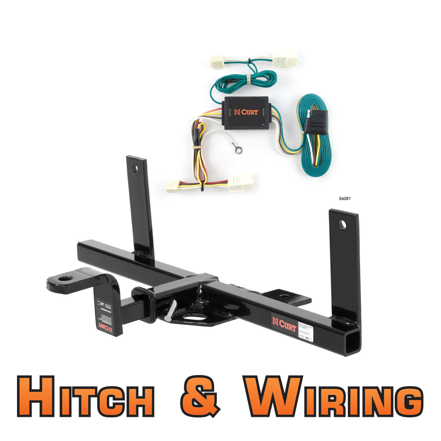 Curt Class 1 Trailer Hitch W  Mount  U0026 Wiring For 2004