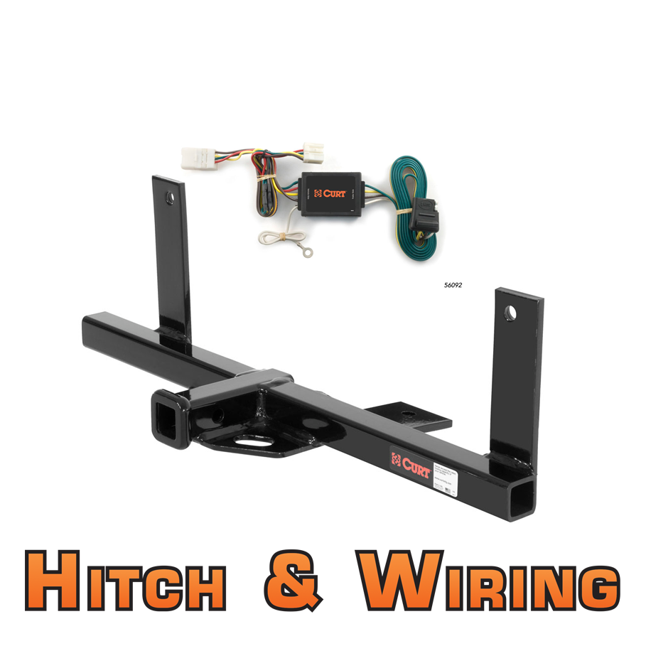 curt class 1 trailer hitch wiring for 2007 2011. Black Bedroom Furniture Sets. Home Design Ideas