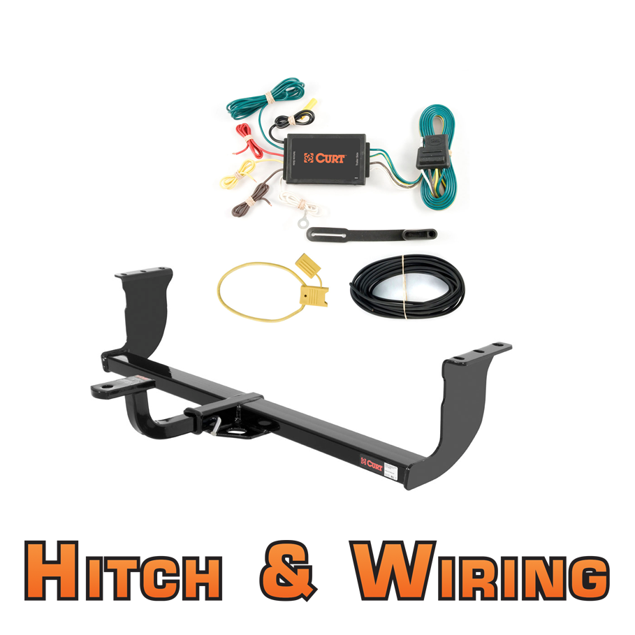 Curt Class 1 Trailer Hitch W  Mount  U0026 Wiring For 2009
