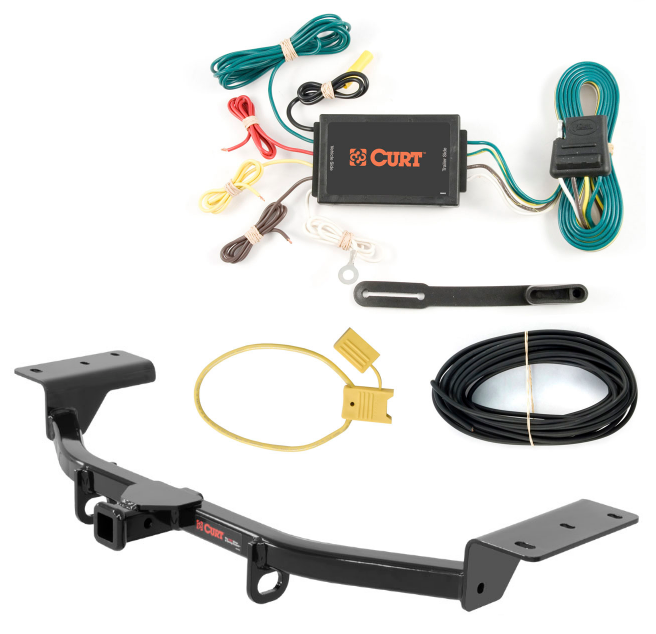 Curt Class 1 Trailer Hitch & Wiring For Ford Focus ST