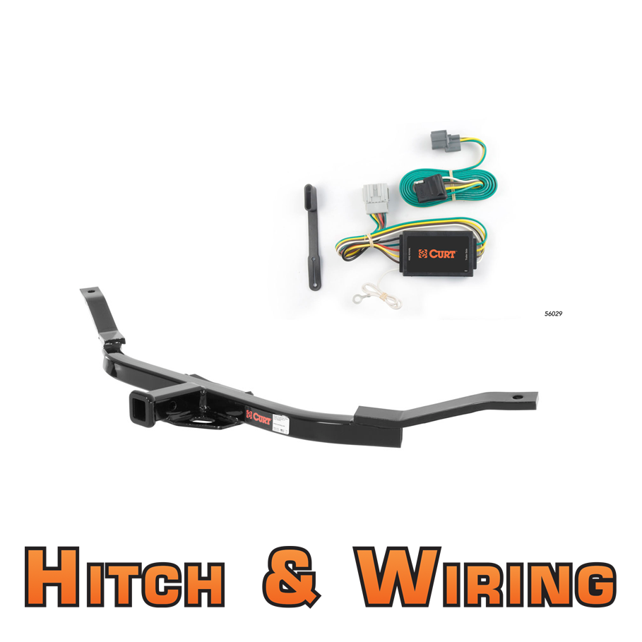 curt class 1 trailer hitch wiring for 2007 2011 honda. Black Bedroom Furniture Sets. Home Design Ideas