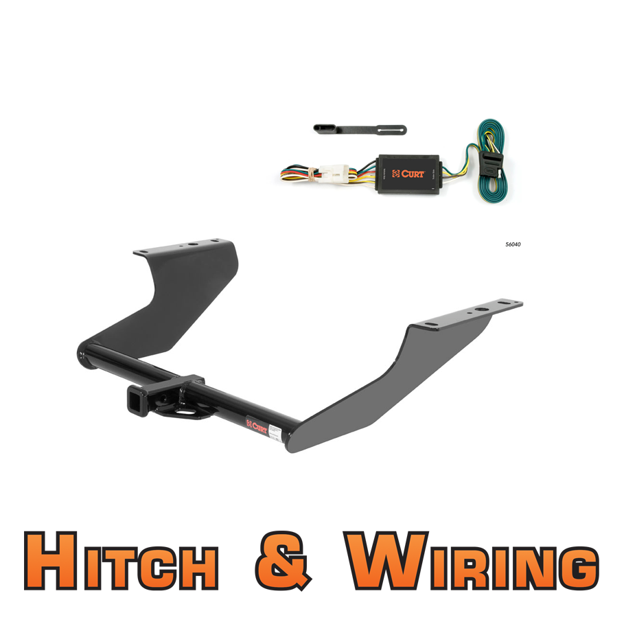 curt class 2 trailer hitch wiring for 2009 2012 subaru. Black Bedroom Furniture Sets. Home Design Ideas