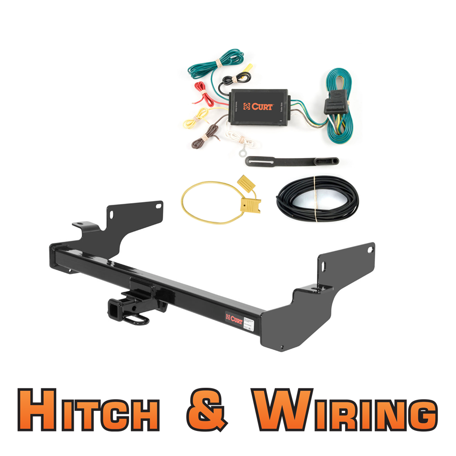 Curt Class 2 Trailer Hitch & Wiring For Cadillac DeVille