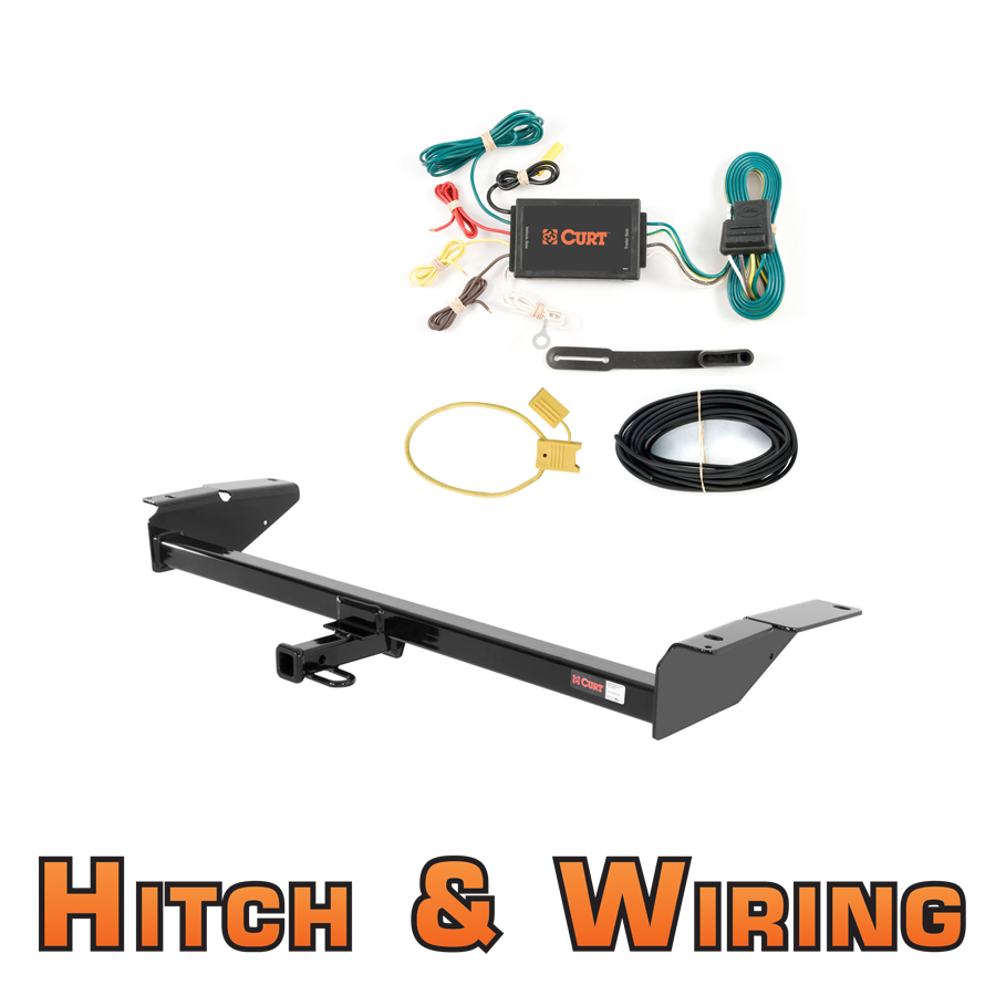 2009 Lincoln Town Car For Sale: Curt Class 2 Trailer Hitch & Wiring For 1981-2009 Lincoln