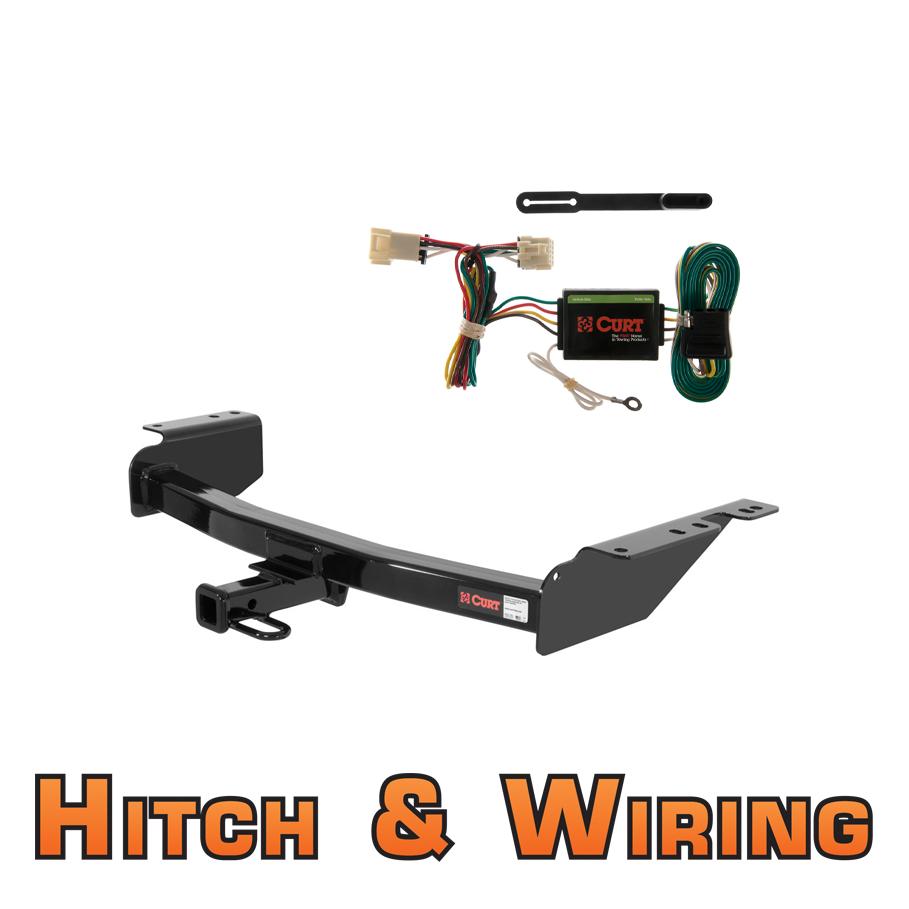 curt class 2 trailer hitch wiring for venture silhouette montana trans sport ebay
