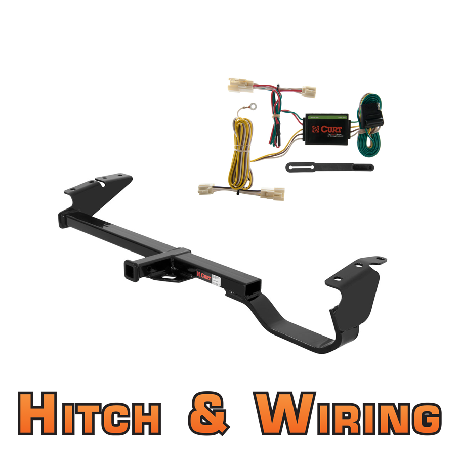 Curt Class 2 Trailer Hitch Wiring For 1997 2001 Toyota Camry Ebay