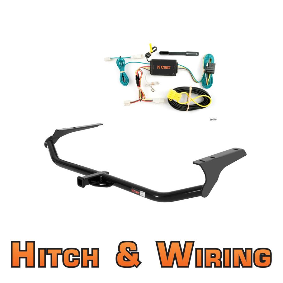 Curt class trailer hitch wiring for toyota venza ebay