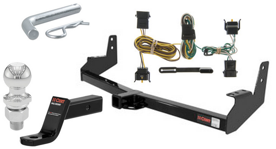 curt class 3 trailer hitch tow package for ford expedition. Black Bedroom Furniture Sets. Home Design Ideas