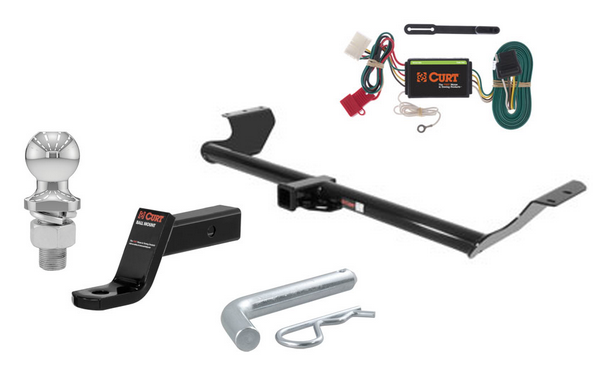 curt class 3 trailer hitch tow package for honda odyssey ebay. Black Bedroom Furniture Sets. Home Design Ideas