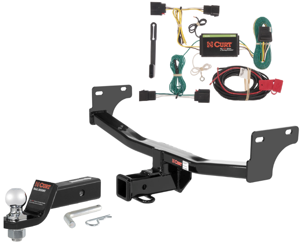 Details About Curt Class 3 Trailer Hitch Tow Package W 2 5 16 Ball For Jeep Patriot