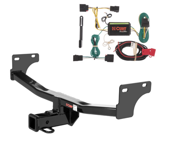 Curt Class 3 Trailer Hitch  U0026 Wiring For Jeep Patriot