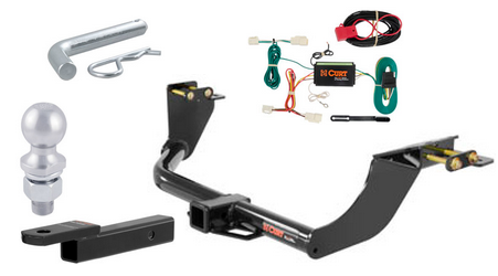 curt class 3 trailer hitch tow package for mitsubishi outlander. Black Bedroom Furniture Sets. Home Design Ideas