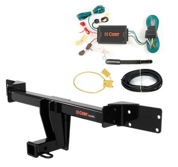 curt class 3 trailer hitch wiring for mercedes gla250 ebay